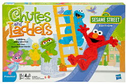 Chutes and ladders box