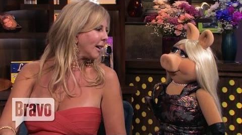 Miss Piggy & Vicki Gunvalson Plead the Fifth on Watch What Happens Live