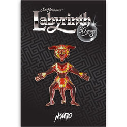 Mondo Labyrinth pin Firey packaging