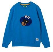 Pancoat sweatshirt cookie blue turn