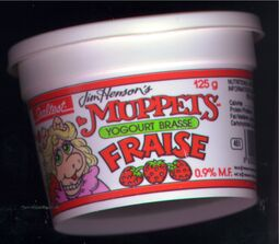 Sealtest Muppets Yogourt Miss Piggy side