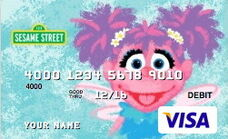 Sesame debit card 12 abby