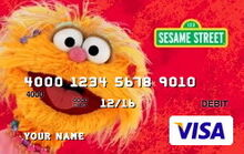 Sesame debit cards 16 zoe