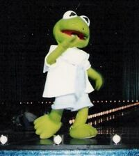 Baby kermit full body