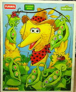 Big bird peapod puzzle
