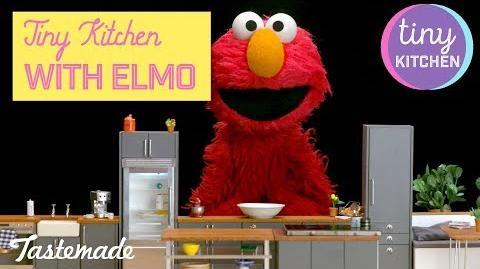 Tiny Kitchen With Elmo