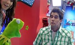 Zapping Zone- Kermit juega al Stop