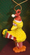 Applause 1992 christmas ornament enchantments big bird stocking 2