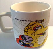 Crown lynn wind mug 1