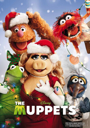 Holiday The Muppets poster