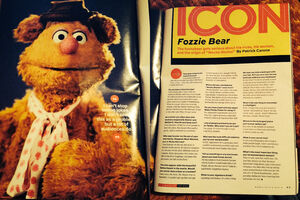 Maxim March 2014 - Fozzie Bear interview