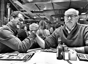 Michael Giacchino and Frank Oz Twitter Jan 28 2018