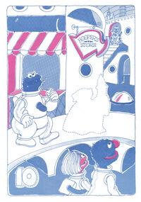 Sesame Street in Space Sticker Book 014