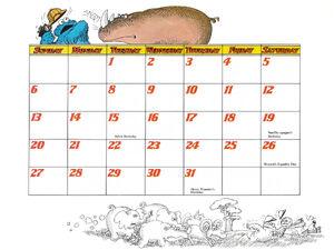 1978 calendar 08 August b