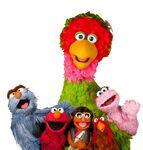 Abelardo-con-Pancho-Elmo-Chip-Gina-y-Lola