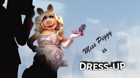 Miss Piggy on fundraising by dressing up - Red Nose Day 2013