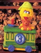 Enesco 1993 train 3 big bird
