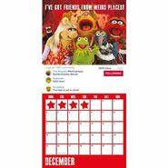 Muppets 2017 Calendar Danilo December