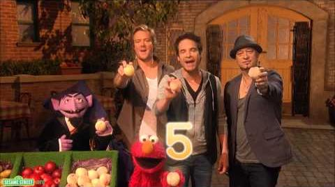 "Sesame Street Train - ""Five By"""