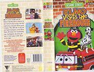 Elmo Visits the Firehouse Australian VHS