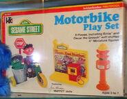 Motorbike playset
