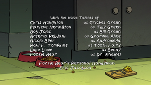 Big City Greens Fozzie Bear credit