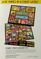 Colorforms alphabet set smollin art 1977 catalog 2