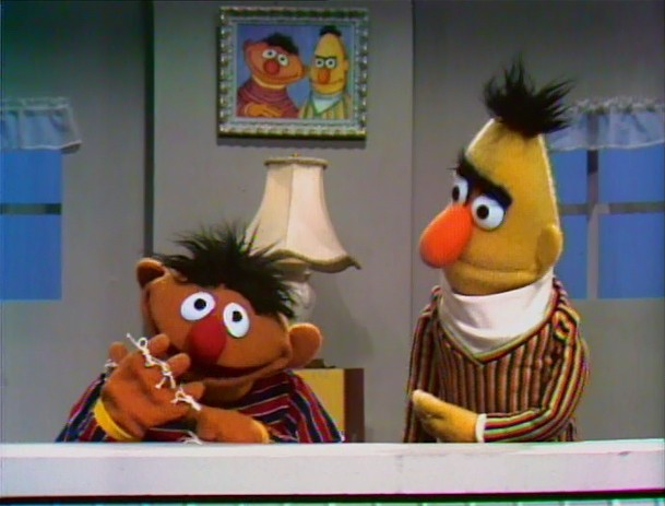 Ernie And Bert S Apartment