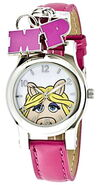 Jc penney miss piggy pink strap charm watch