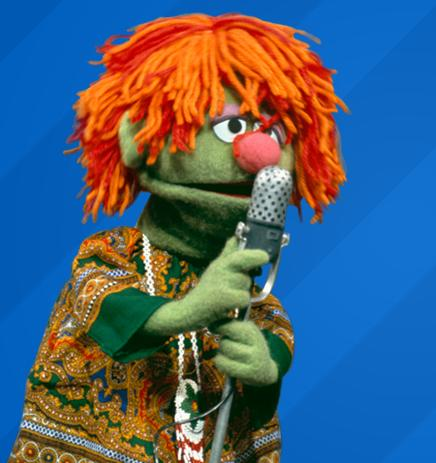 Sesame street redhead