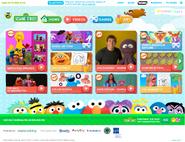 PBSKids.org Sesame page April 2016