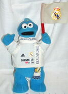 Real madrid 2008 cookie monster