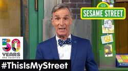 Sesame Street Memory Bill Nye ThisIsMyStreet