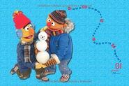 Sesamstrasse posterkalender 2014 jan