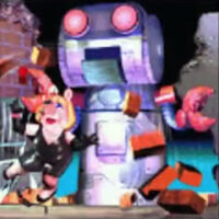 Spy muppets giant robot