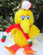 Applause santa big bird christmas plush