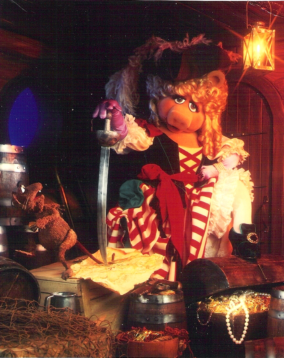 Image result for miss piggy treasure island