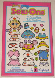Colorforms 1989 muppet babies sew-ons 2