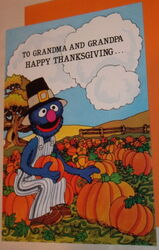 Drawing board 1980 grover card