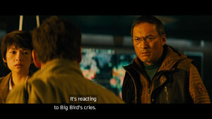 Godzilla King of the Monsters Big Bird subtitles