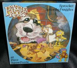 Hestair 1983 sprocket spies the fraggles