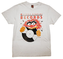 Junk food 2012 t-shirts muppet studios records