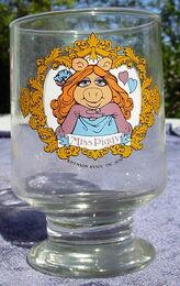 Ravenhead piggy glass