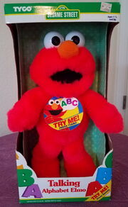 Tyco talking alphabet elmo