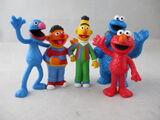 Sesame Street PVC Figures (Comansi)