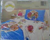 The bibb company dreamstyles 1990 muppet twin sheet set 1