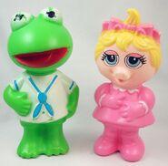 Bubble bath france muppet babies kermit piggy soaky soakies 1