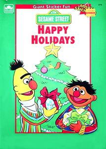 Happy holidays sticker book lauren attinello golden 1991