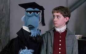 Headmaster Sam and Young Ebenezer