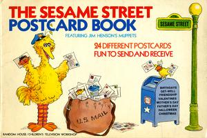 SesameStreetPostcardBook